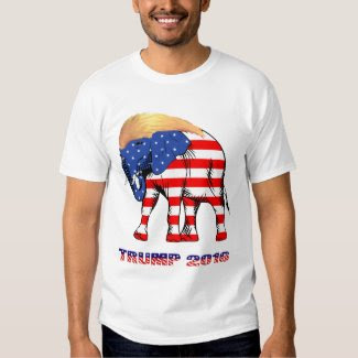 Trump Good Hair Elephant 2016 Men's Basic T-Shirt
