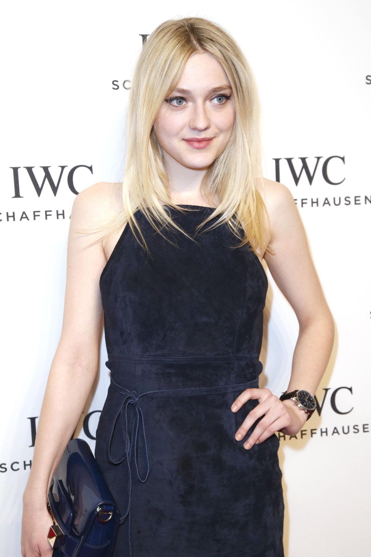 DAKOTA FANNING at IWC Schaffhausen For the Love of Cinema Gala in New York