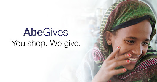 AbeGives | You shop. We give.