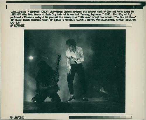 Jackson Michael - Sep 07 1995