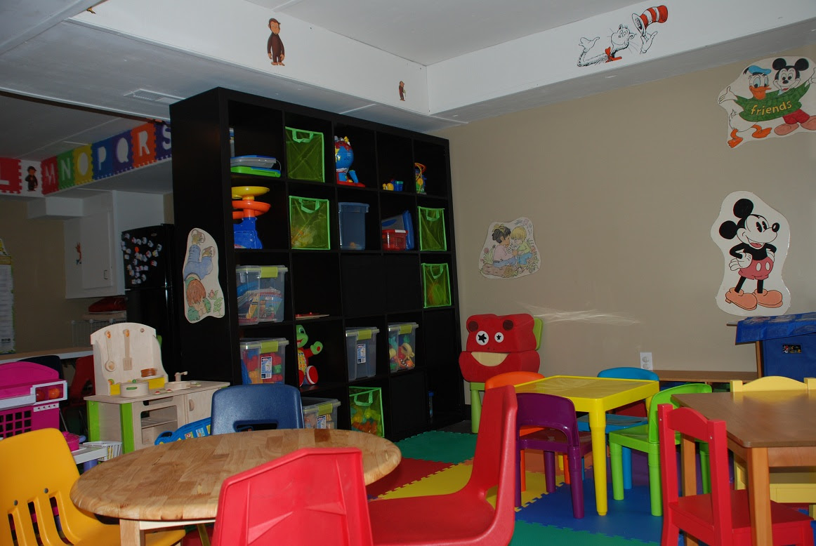 Home Daycare Decor Ikea On A Daycare Budget Daycare Rooms Daycare Setup