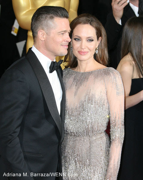 Brangelina are working on a secret movie project together