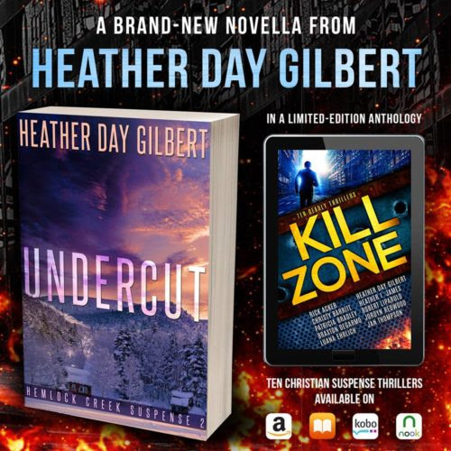 Undercut by Heather Day Gilbert | book review + giveaway - Katherine Scott Jones