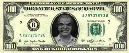 It's all about the Benjamins.