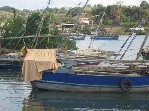 dhows at anchor
