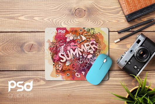 Mouse Pad Mockup Free PSD | PSD Graphics