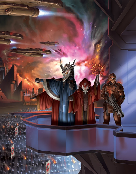 Update 74: Core Worlds Sourcebook in layout, Children of Orion in art direction! · Mindjammer - The Roleplaying Game
