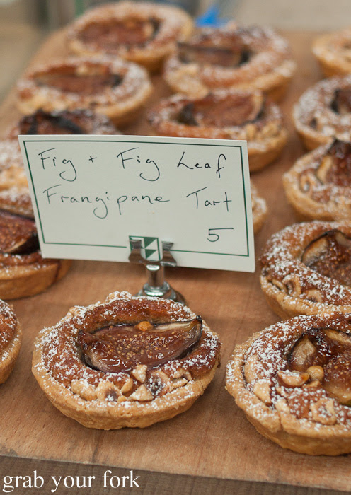 Fig and fig leaf frangipane tart from Brickfields at the Sunday Marketplace, Rootstock Sydney 2014