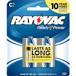 Rayovac Maximum Battery - C - Alkaline