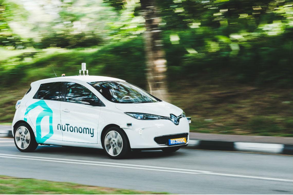 Resultado de imagem para Começa a circular o primeiro táxi sem condutor do mundo