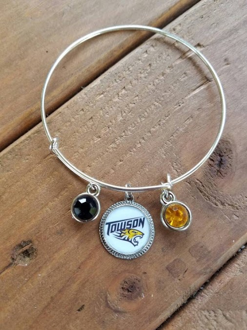 Check out this item in my Etsy shop https://www.etsy.com/listing/484667045/towson-university-themed-...