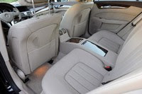 2012 Mercedes-Benz CLS550 rear seats