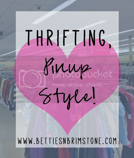 What to Look for When Thrifting, Pinup Style