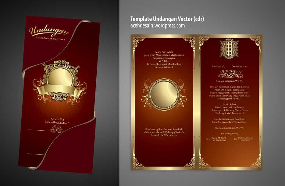 94 Koleksi Foto Download Desain Undangan Pernikahan Coreldraw X7 Cdr HD Gratid Download Gratis