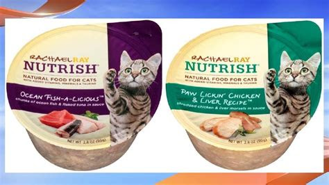 rachael ray cat food recalled  reports  cats