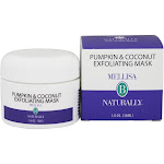 Mellisa B Naturally - Pumpkin & Coconut Exfoliating Mask - 1 oz.