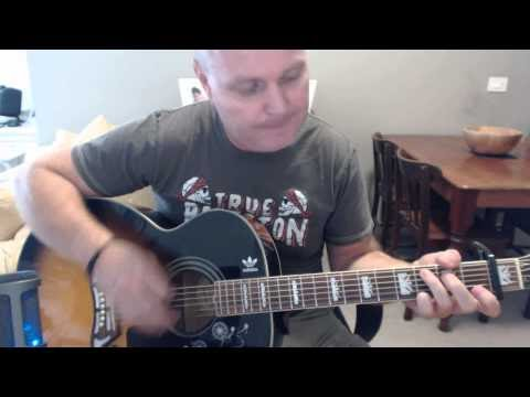 i'm looking through you chords (OUTSIDE) guitar lesson