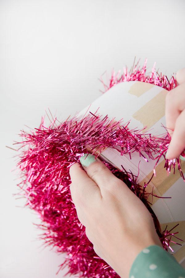DIY Christmas Ornament Piñatas | Studio DIY
