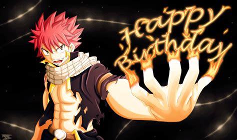 happy birthday natsu style gift  passion  tobeyd