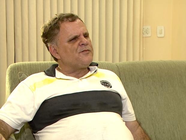 Marcelo é deficiente visual e será mesário em Capinópolis (Foto: TV Integração/Reprodução)