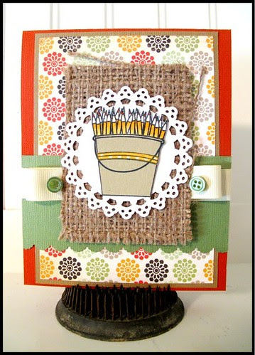 clear and simple stamps card
