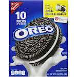 Nabisco Oreo Sandwich Cookies, Chocolate - 10 pack, 52.5 oz box