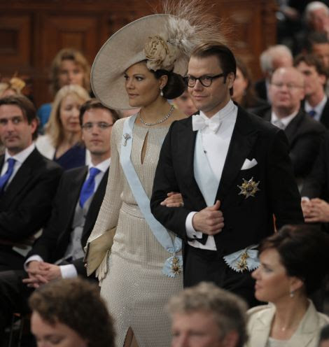 Prince Daniel of Sweden and Princess Victoria of Sweden