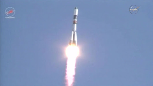 Progress Reaches Orbit for Two Day trip to Station | Space Station