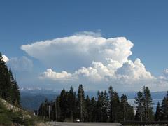 Storm South of Lake Tahoe