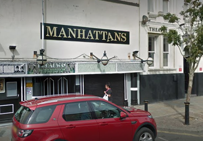 The 16-year-old fell asleep in the toilets and was locked in the club all night. Credit: Google Street View