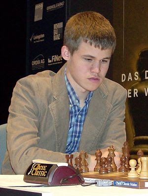 Magnus Carlsen at the 2008 Chess Classics