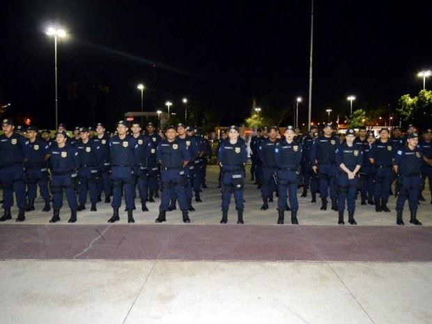 Guarda Civil Municipal de Teresina (Foto: Divulgação/SEMTCAS)