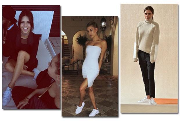 Kendall Jenner, Hailey Baldwin e Victoria Beckham  (Foto: Reprodução/Instagram)
