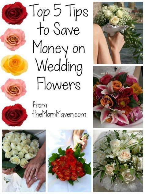 Top 5 Tips for Saving Money on Your Wedding Flowers