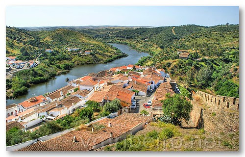 Rio Guadiana, visto do Castelo de Mértola by VRfoto