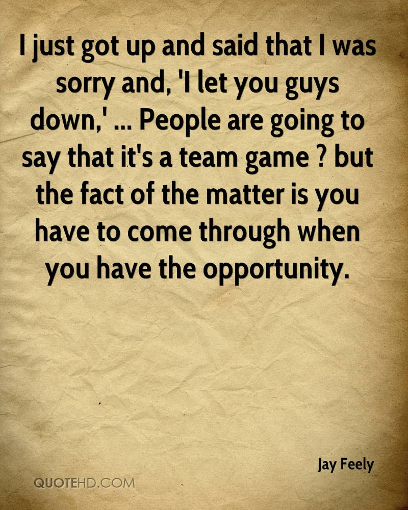 Jay Feely Quotes Quotehd
