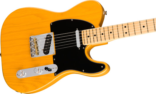 Fender American Pro Telecaster Butterscotch Blonde Maple Fingerboard With Hardshell Case