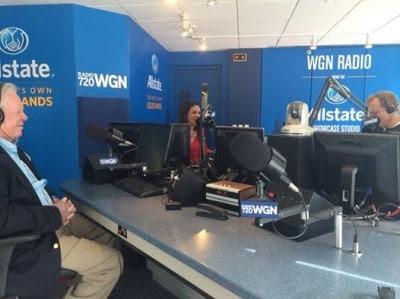 Joel Daly on WGN Radio