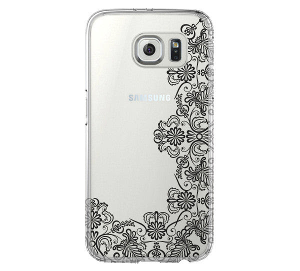Lace Floral Iphone 6 Case Iphone 6s Plus Case Galaxy S6 Edge Clear