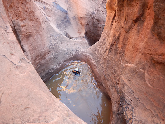 Poe Canyon, Technical Canyoneering Photos | Shadow Cat Adventures