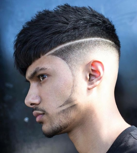 3 Lines Design Haircut Which