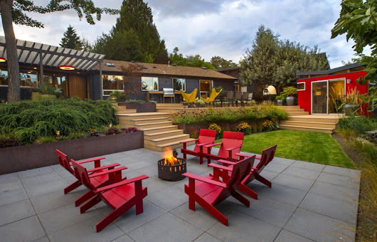 Seattle Times Pacific NW Magazine - Contemporary Cool Article | Olander Garden Design