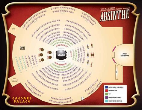 Absinthe Las Vegas Show   Tickets & Review