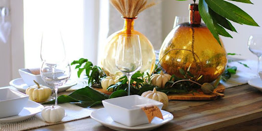 35+ Easy Thanksgiving Decorations - Ideas for Festive Thanksgiving Decor