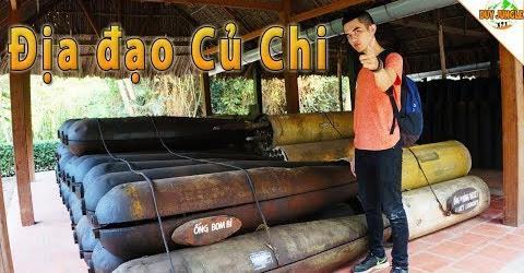 Chui hầm Địa Đạo Củ Chi #2   Du lịch Địa Đạo Củ Chi với những quả BOOM  Duy Jungle