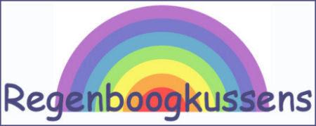 regenboogkussens