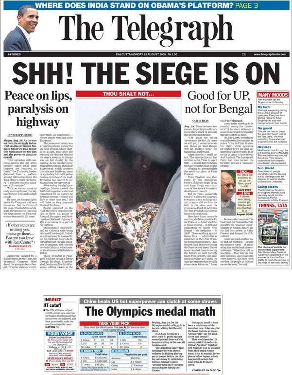 The Telegraph Kolkata