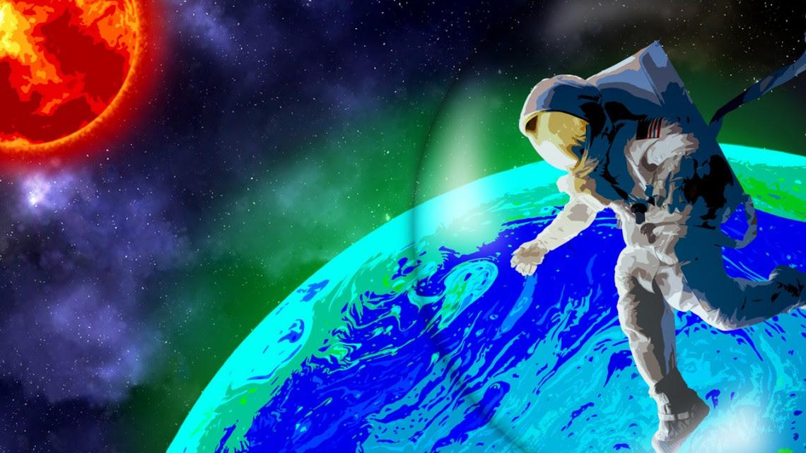 biofluorescence illustration