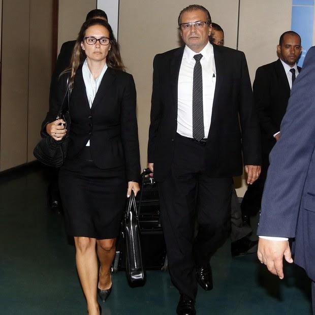À esquerda, a advogada Beatriz Catta Preta (Foto: Agência O Globo)