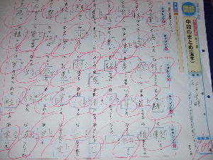 ヒデキの漢字50問テスト ひなたまさみとひなたぼっこ 楽天ブログ